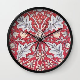 William Morris - Triple Net - Digital Remastered Edition Wall Clock