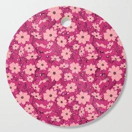 Cosmea pink Cutting Board