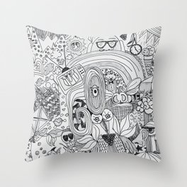 It's All In Your Mind Throw Pillow