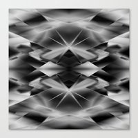 kaleidoscope Canvas Prints featuring Kaleidoscope by Assiyam