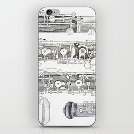 Hautbois iPhone Skin