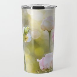 Rose Bokeh Travel Mug