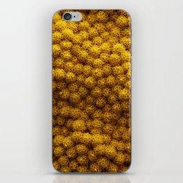 Flower weirdness iPhone Skin