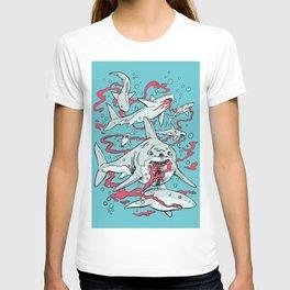 SHARKS AFTER LUNCH T-shirt