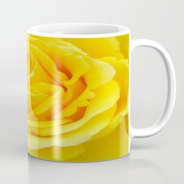 Beautiful Yellow Rose Closeup Coffee Mug