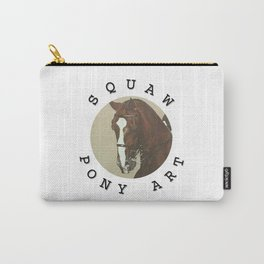 Squaw Pony Logo Gifted Carry-All Pouch