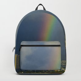Hawaii Rainbow Landscape Backpack