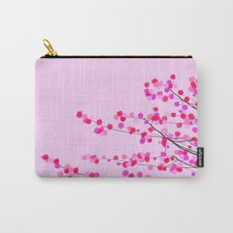 Pink cherry blossom Carry-All Pouch