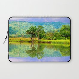 RIVER MIRROR Laptop Sleeve