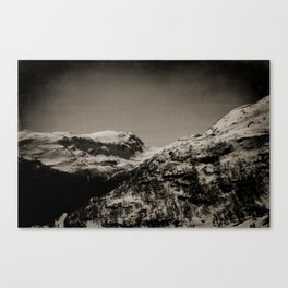 Lonely Mountains II Canvas Print