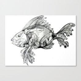 Trojan Fish Canvas Print