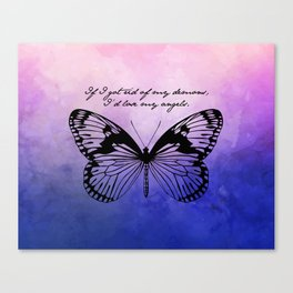 Tennessee Williams - Demons and Angels Canvas Print