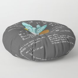 A Simple Question Of Weight Issues Floor Pillow