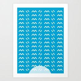 Geometric Calendar - Day 20 Art Print