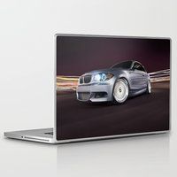 bmw Laptop & iPad Skins featuring BMW 135i by Jacob Brcic