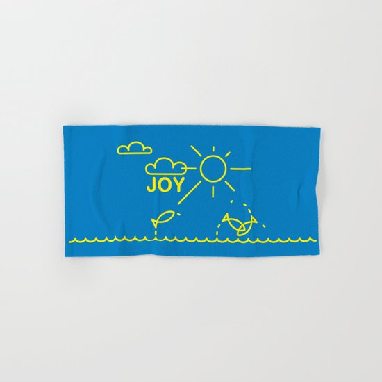J O Y Hand & Bath Towel