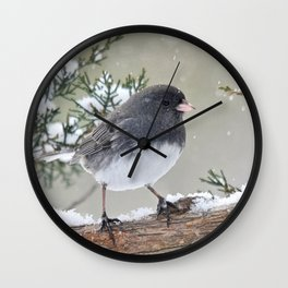 A Small Bird's Strength Wall Clock