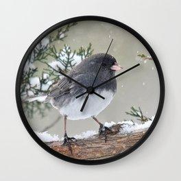 A Small Bird's Strength Wall Clock