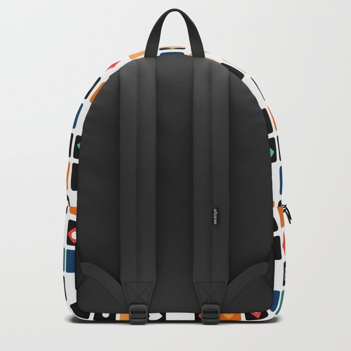 Colorful cubes . Backpack