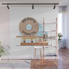Brady's Donuts Wall Mural