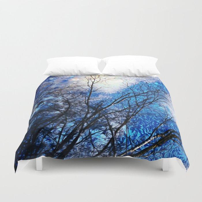 Wild Winter Duvet Cover