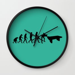 Evolution snooker Wall Clock