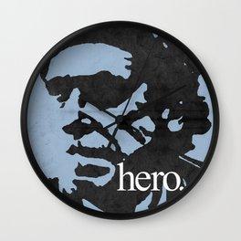 Charles Bukowski - hero. Wall Clock