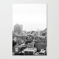 Lower East Side Skyline #3 Canvas Print