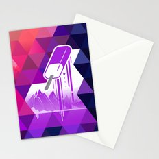 Grape Popsicle Stationery Cards