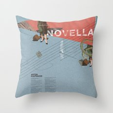 Novella- Mixed media Throw Pillow