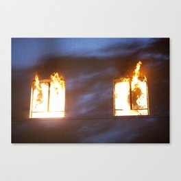 Action Sequence. Canvas Print