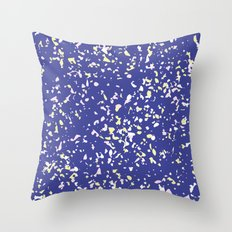 Paint Splash Speckle Terrazzo Throw Pillow