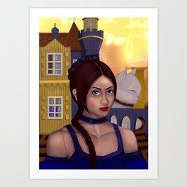 Dollhouse Art Print