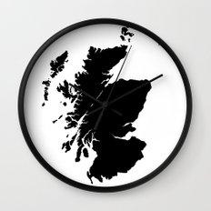 Distilleries of Scotland Wall Clock