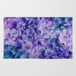 Hibiscus Flower Pattern Rug