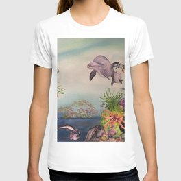 Journey Under the Sea by Maureen Donovan T-shirt
