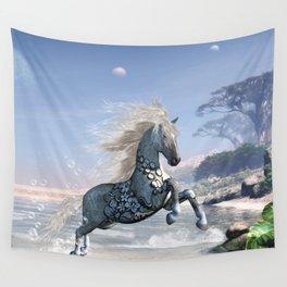 Wonderful wild fantasy horse Wall Tapestry