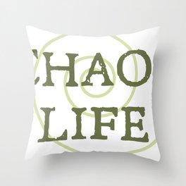 ChaosLife: The Print Throw Pillow
