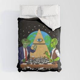 Alien Illuminati Conspiracy Comforters