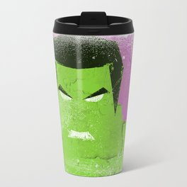 The Grunge Green Rage Travel Mug