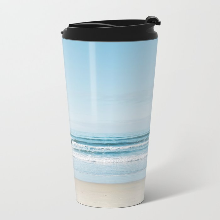 California Surfing Metal Travel Mug