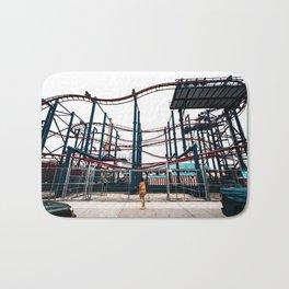 Coney Island Roller Coaster Bath Mat