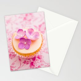 Decorated cupcake Stationery Cards