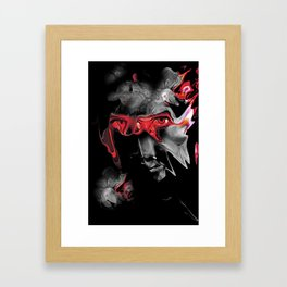About Face Framed Art Print