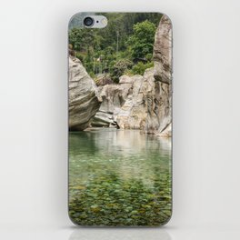 Valle Verzasca iPhone Skin
