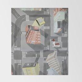 Pharmaville - urban living Throw Blanket