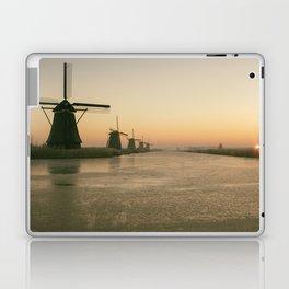 Sunrise at Kinderdijk IV Laptop & iPad Skin