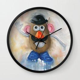 Mr Potato Head Lego Wall Clock