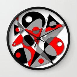 Abstract #81 Wall Clock