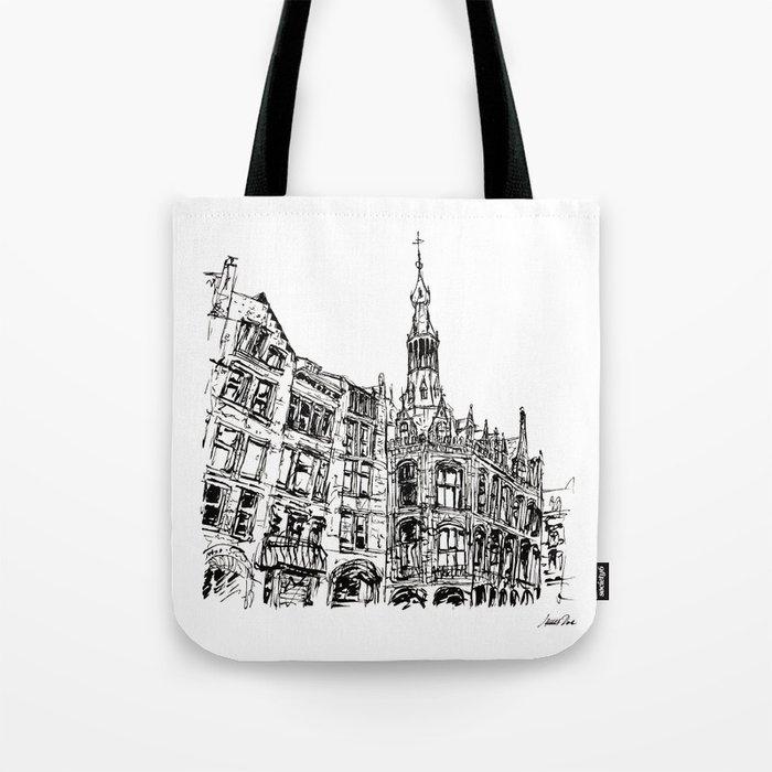 Urban Inkscape 6 Amsterdam Tote Bag